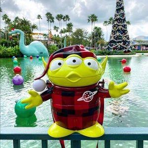 2019 Disney Christmas Alien popcorn bucket